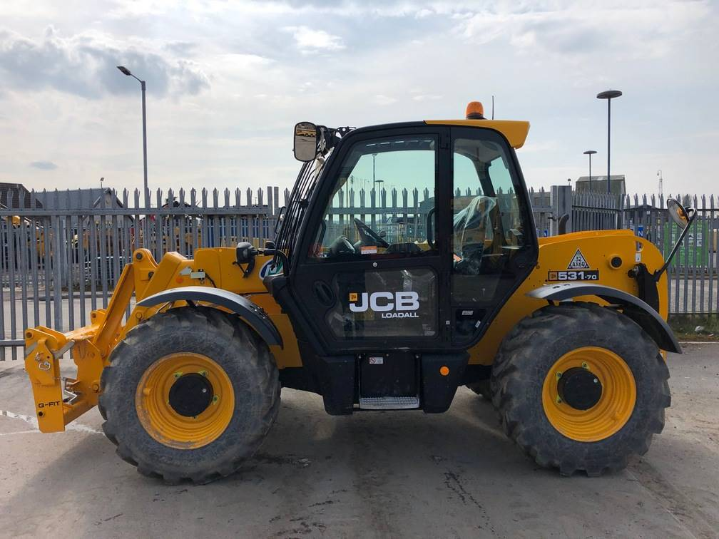 JCB 531-70, Telescopic handlers, Construction