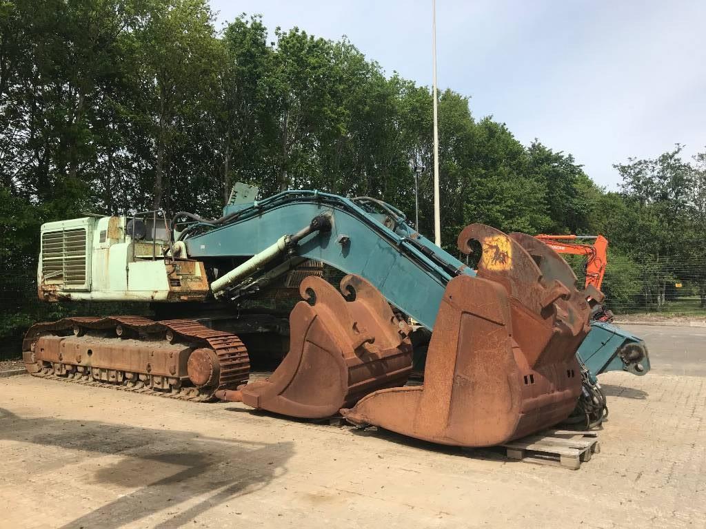 Hitachi ZX 650 LC H, Crawler Excavators, Construction Equipment