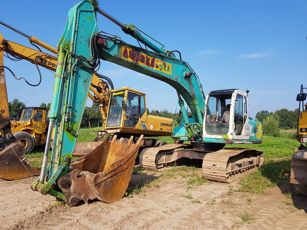 Kobelco SK 210 LC-6 - Crawler Excavators - Construction