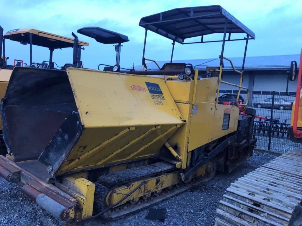 Vögele S 1400, Asphalt pavers, Construction Equipment