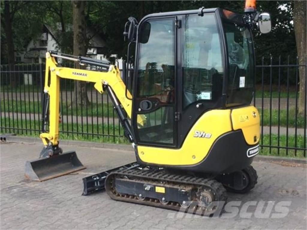 Yanmar SV18 MINIGRAVER, Mini excavators < 7t (Mini diggers), Construction