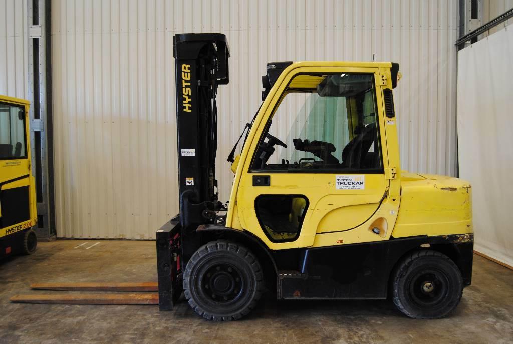 Hyster H4,0FT6, Dieselmotviktstruckar, Materialhantering