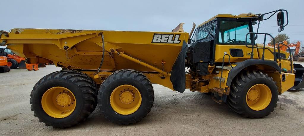 Bell B20E, Knækstyrede dumpere, Entreprenør