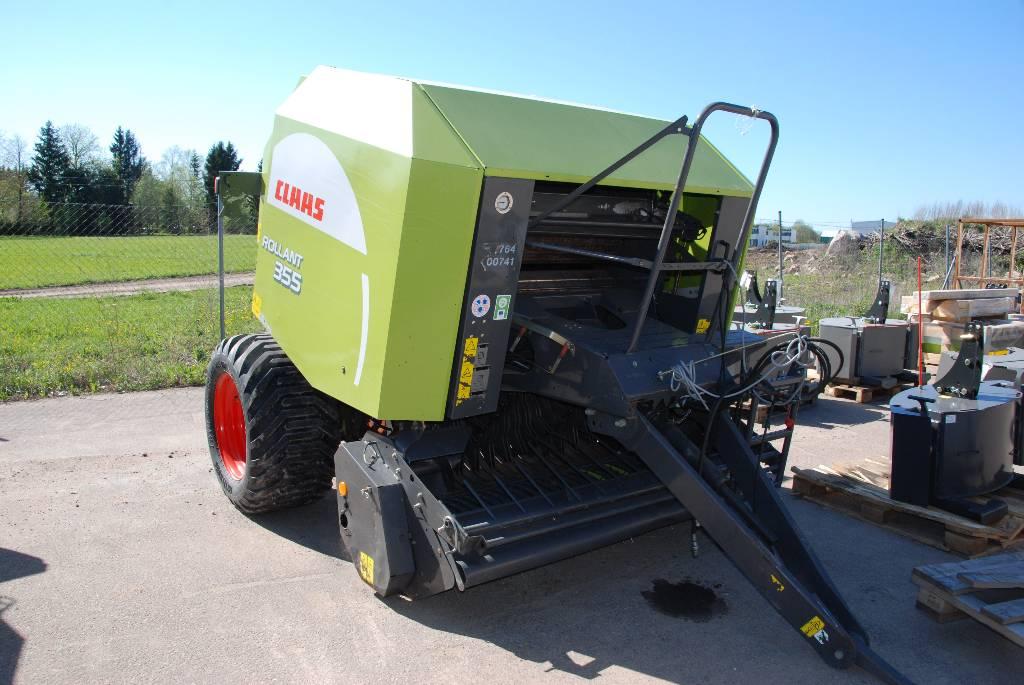 CLAAS Rollant 355 RC, Ruloonpressid, Põllumajandus