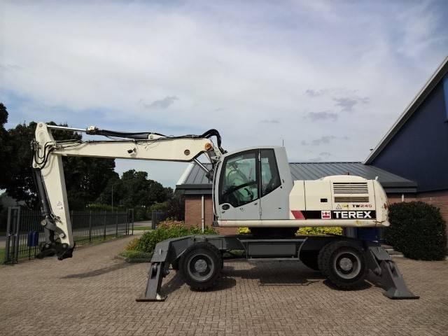 Terex TW 240, Wielgraafmachines, Bouw