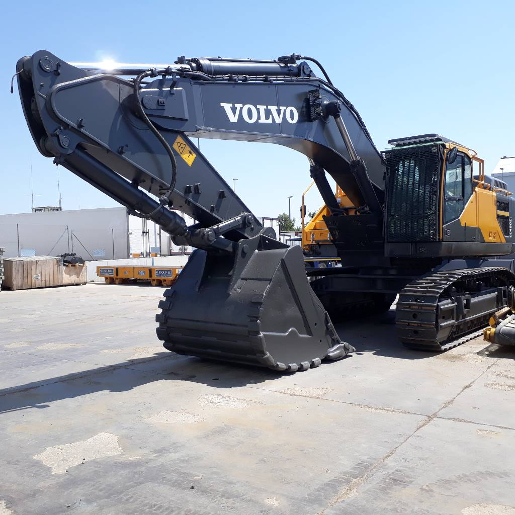 Volvo EC 480 E L, Crawler Excavators, Construction Equipment