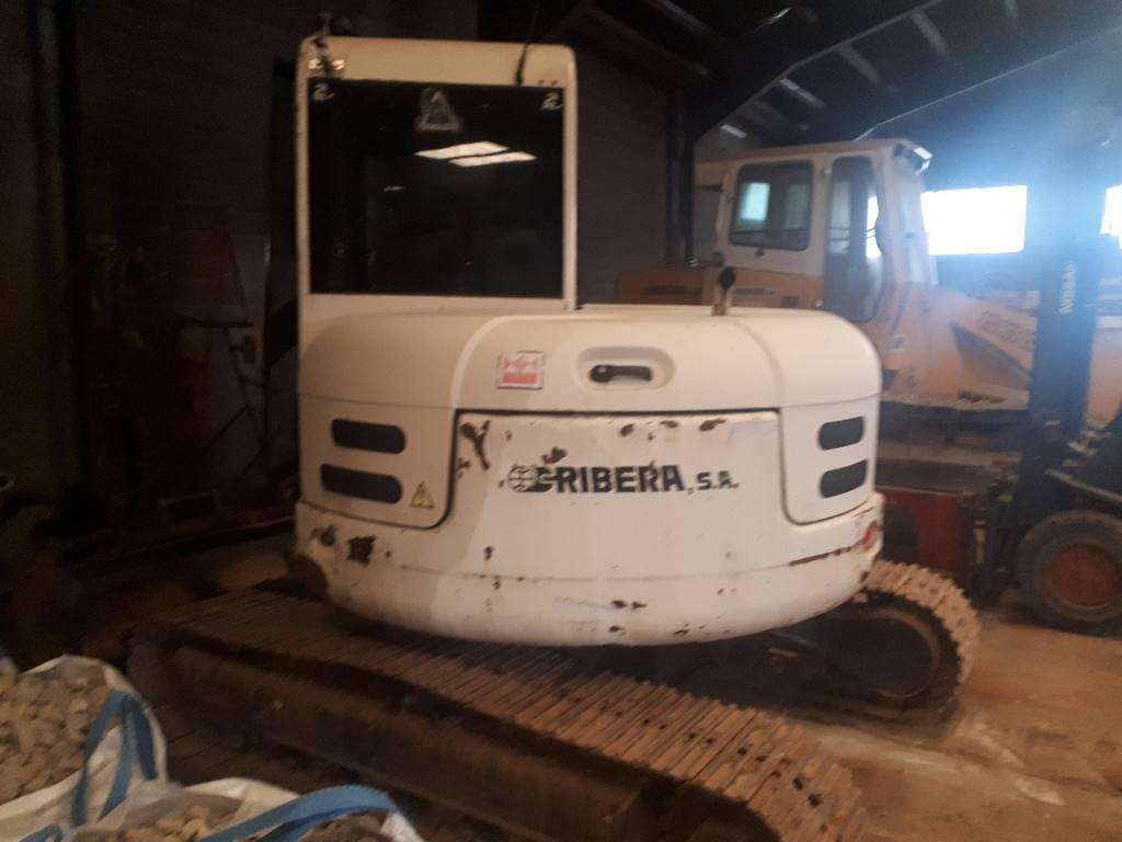 Terex TC 75, Excavadoras 7t - 12t, Construcción