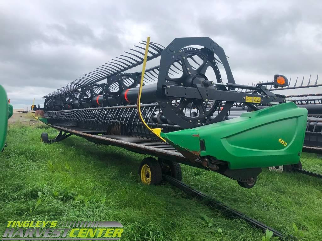 John Deere 435D, Combine headers, Agriculture
