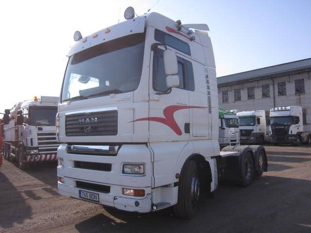 MAN TGA 26.480 6x2, Conventional Trucks / Tractor Trucks, Trucks and Trailers