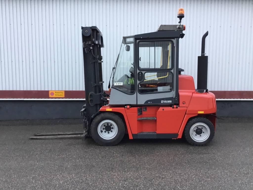 Kalmar DCE50-6HM, Diesel trucks, Material Handling