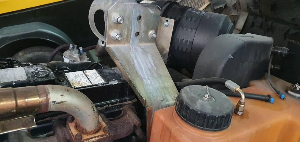 Ingersoll Rand 7/41, Compresores, Construcción