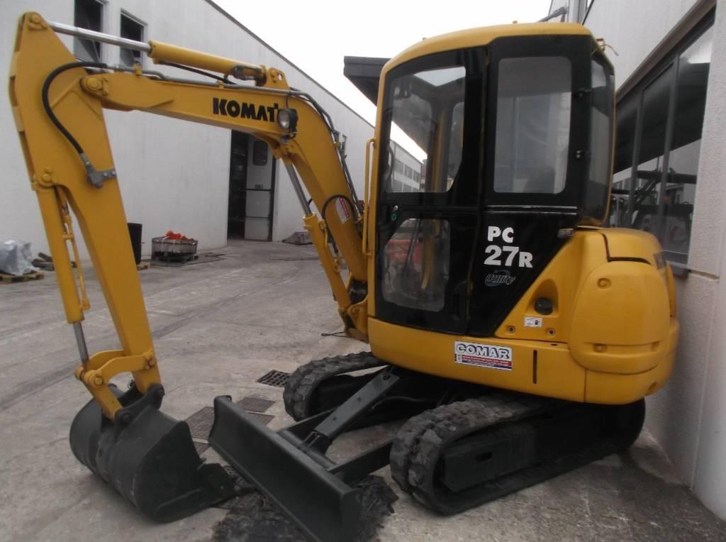 Komatsu PC 27 R-8, Mini Excavators <7t (Mini Diggers), Construction Equipment