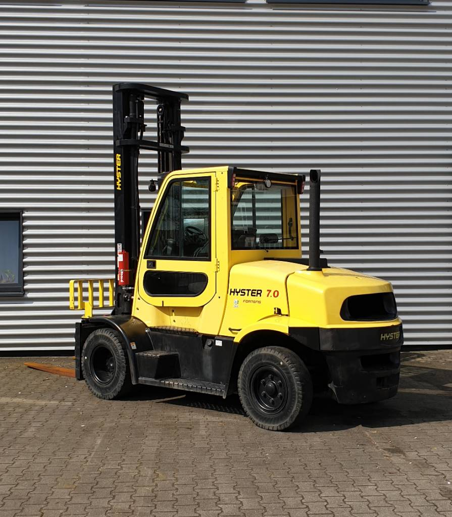 Hyster H7.0FT, Diesel counterbalance Forklifts, Material Handling