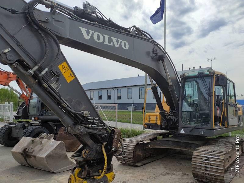 Volvo EC220DL, Crawler Excavators, Construction Equipment