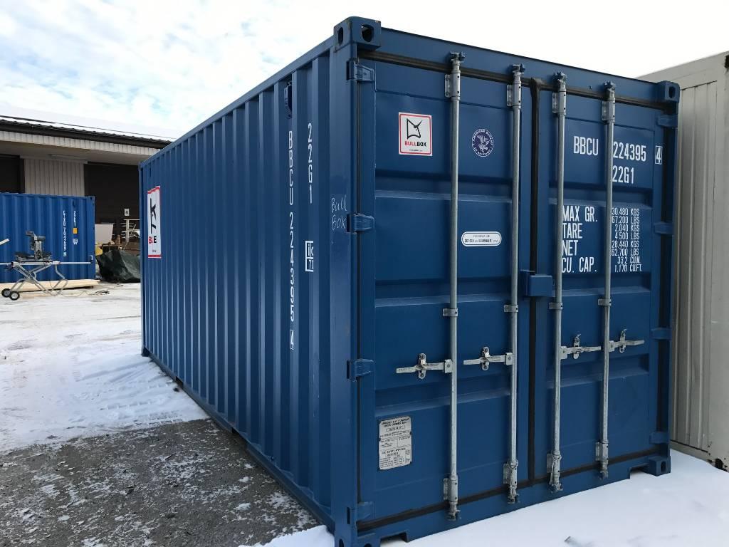[Other] Sjöcontainer 20 fot, Övrigt, Entreprenad