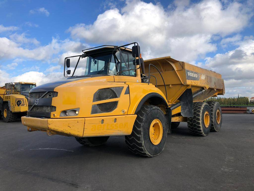 Volvo A 35 F, Articulated Dump Trucks (ADTs), Construction