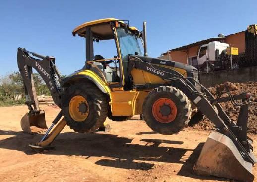 Volvo BL60B, Backhoe Loaders, Construction Equipment