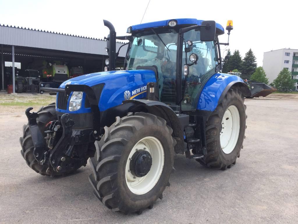 New Holland T 6.165, Traktorid, Põllumajandus