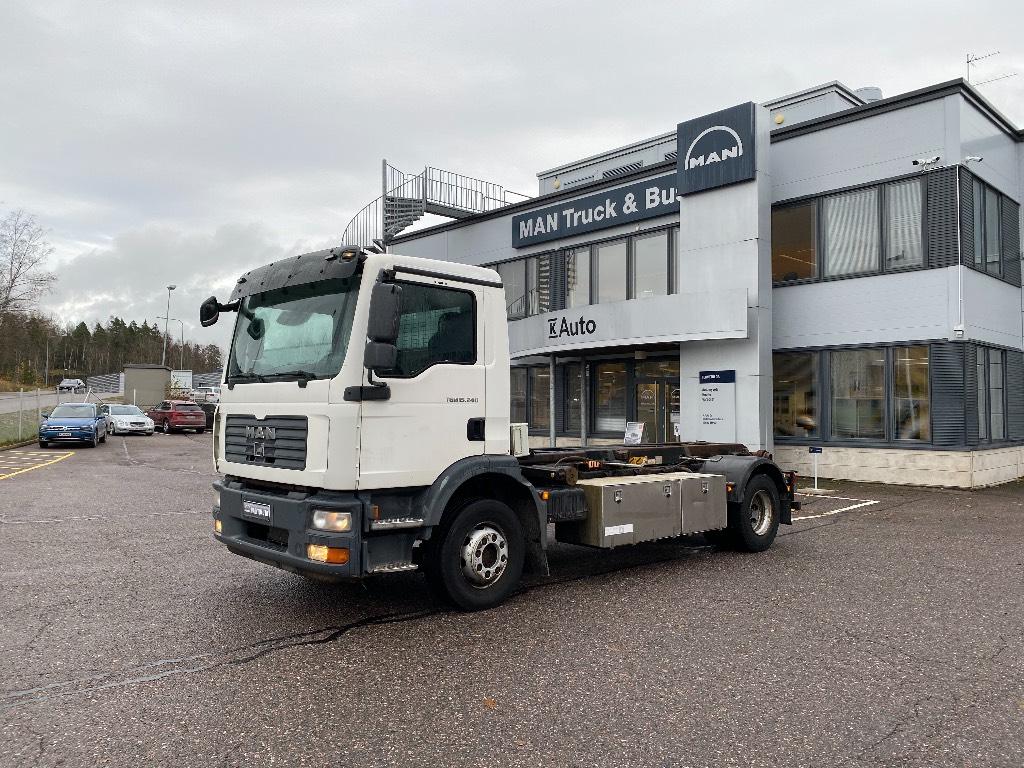 MAN TGM15.240 Multilift vaijeri, Vaihtolava-autot, Kuljetuskalusto