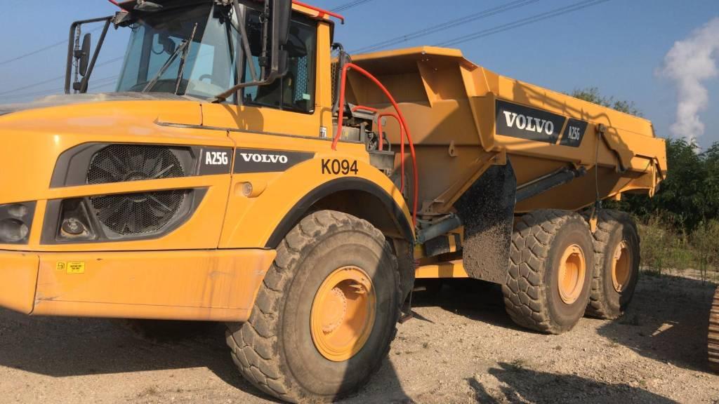 Volvo A25G, Articulated Dump Trucks (ADTs), Construction