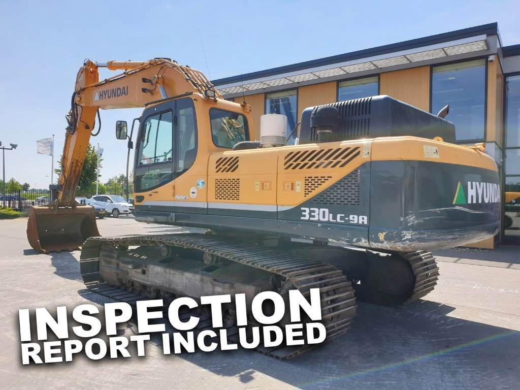 Hyundai Robex 330LC-9 A, Crawler Excavators, Construction Equipment