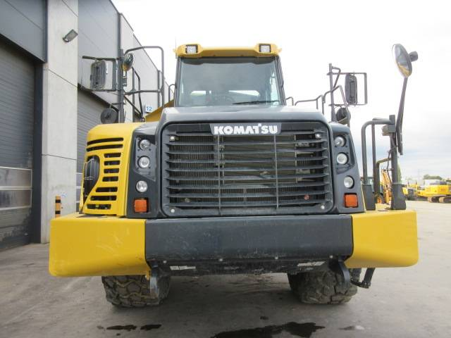 Komatsu HM400-5, Articulated dump trucks, Construction Equipment