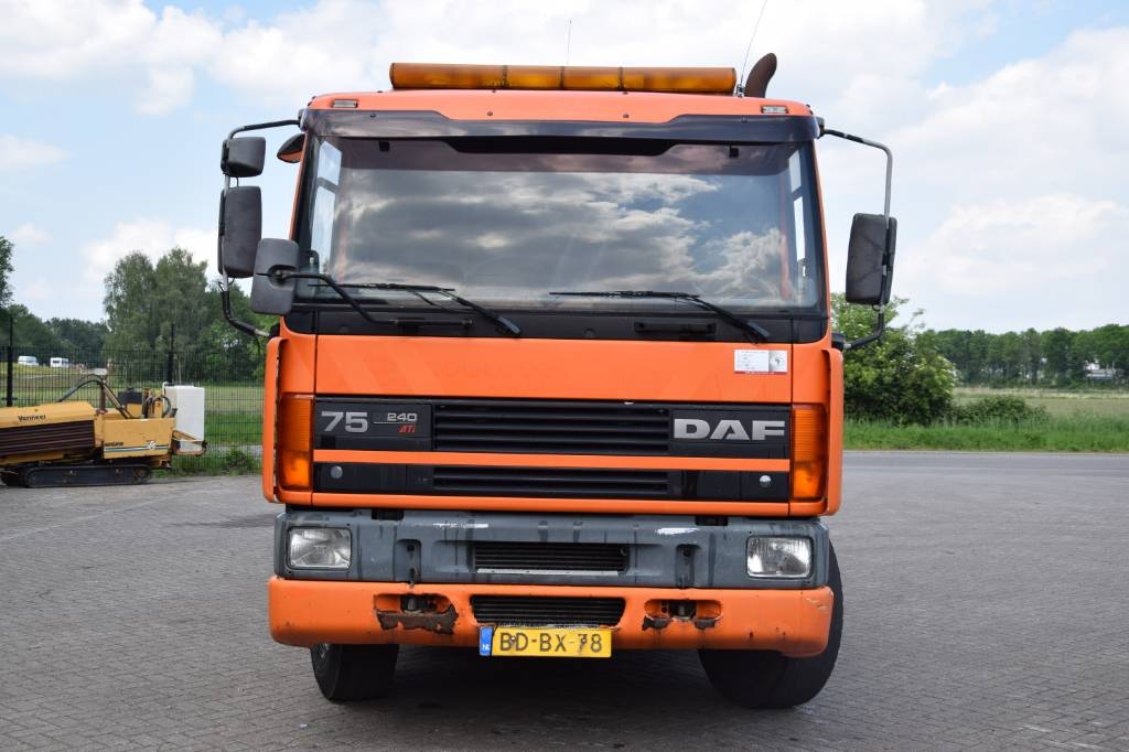 DAF 75CF, Combi / vacuum trucks, Trucks and Trailers