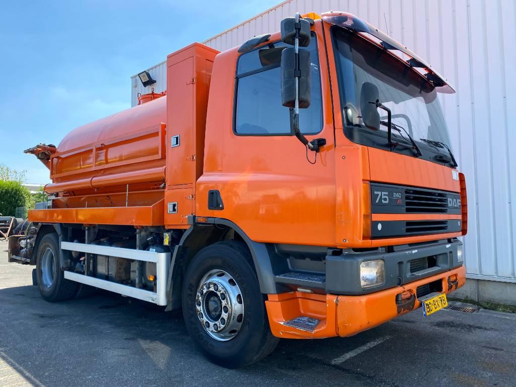 DAF 75CF SEWAGE TRUCK, Combi / vacuum trucks, Trucks and Trailers