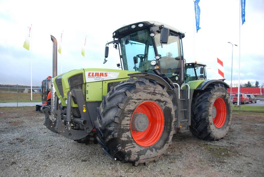CLAAS Xerion 3800 Trac VC, Traktorid, Põllumajandus