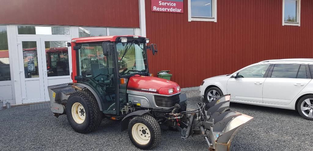 Hako Yanmar 3500DA kompakt traktor, Kompakttraktorer, Grönytemaskiner