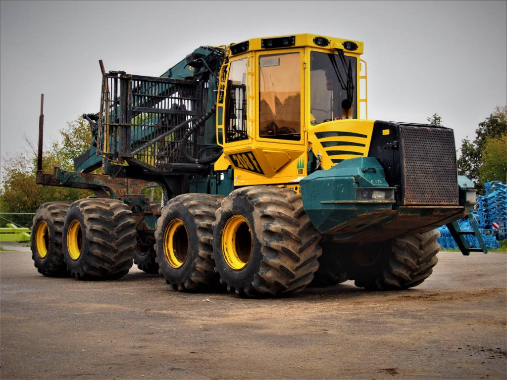 HSM 208 F, Forwarders, Forestry