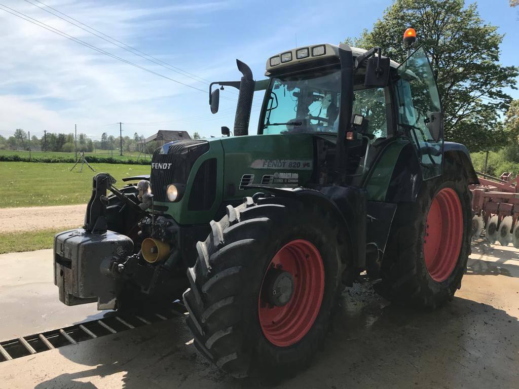 Fendt 820 Vario TMS, Traktorid, Põllumajandus