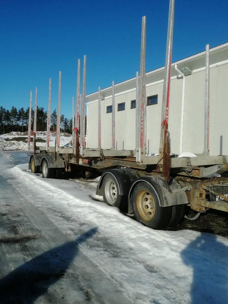 Jyki V42-T0, Puuperävaunut, Kuljetuskalusto