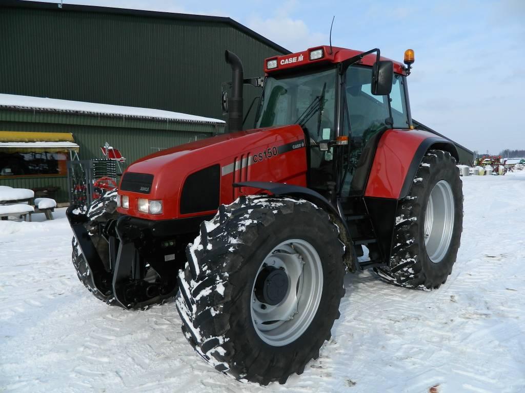 CASE CS 150, Traktori, Lauksaimniecība