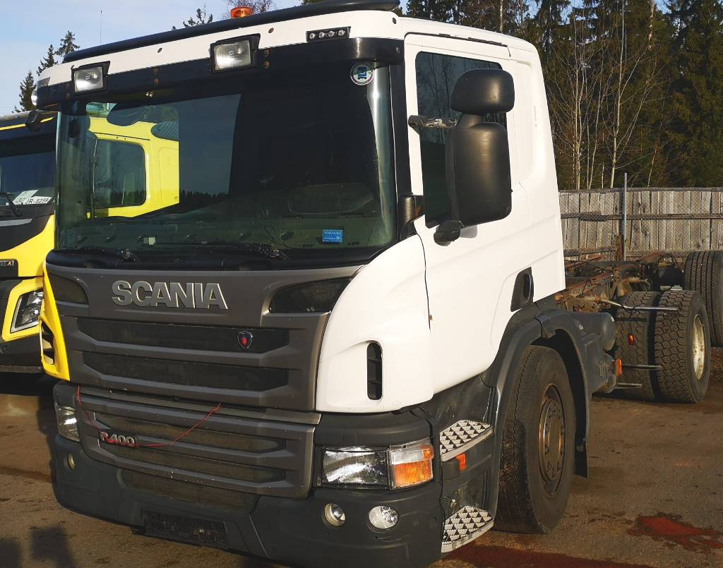 Scania P 400 6x2*4 uusi koukkulaite, Koukkulava kuorma-autot, Kuljetuskalusto