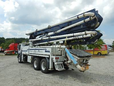 Putzmeister BSF 36Z, Boom Pumps, Construction Equipment