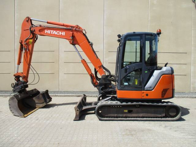 Hitachi ZX 60 US B-3, Mini excavators < 7t, Construction Equipment