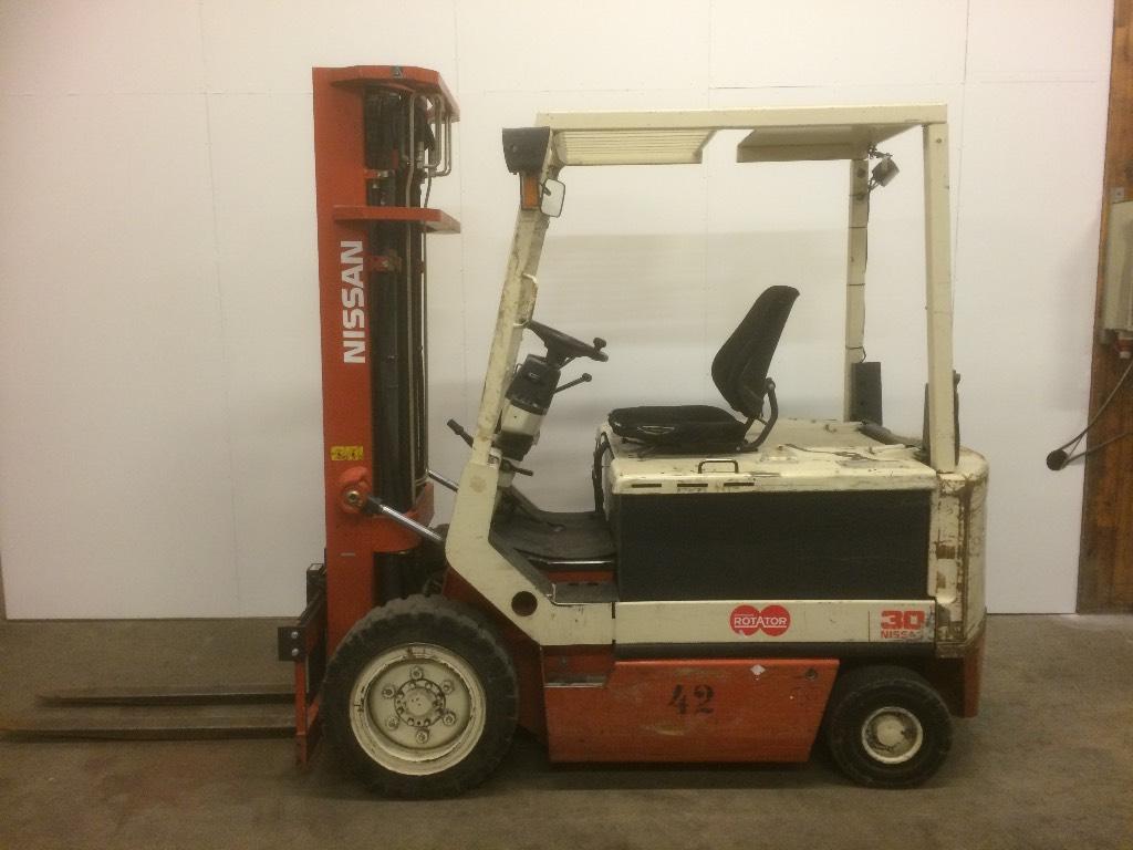Nissan RGM02R30U, Sähkötrukit, Materiaalinkäsittely