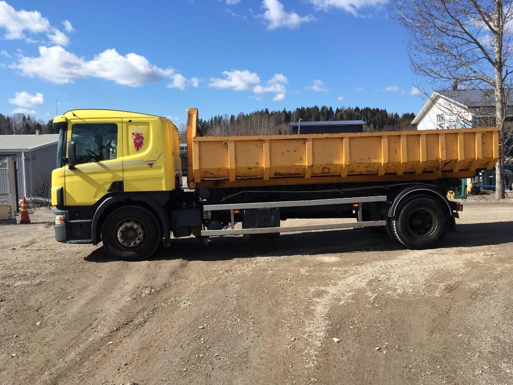Scania 124 L 360, Vaihtolava-autot, Kuljetuskalusto