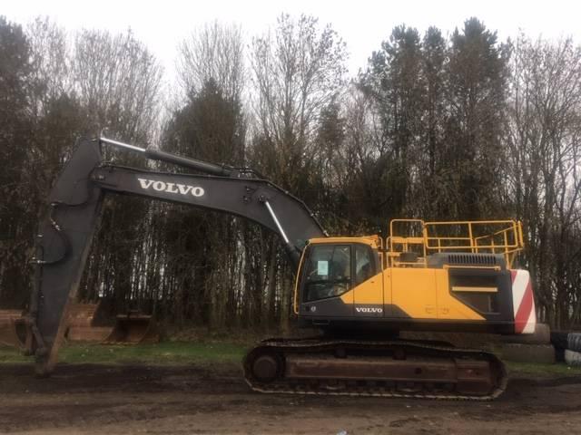 Volvo EC480EL, Crawler excavators, Construction