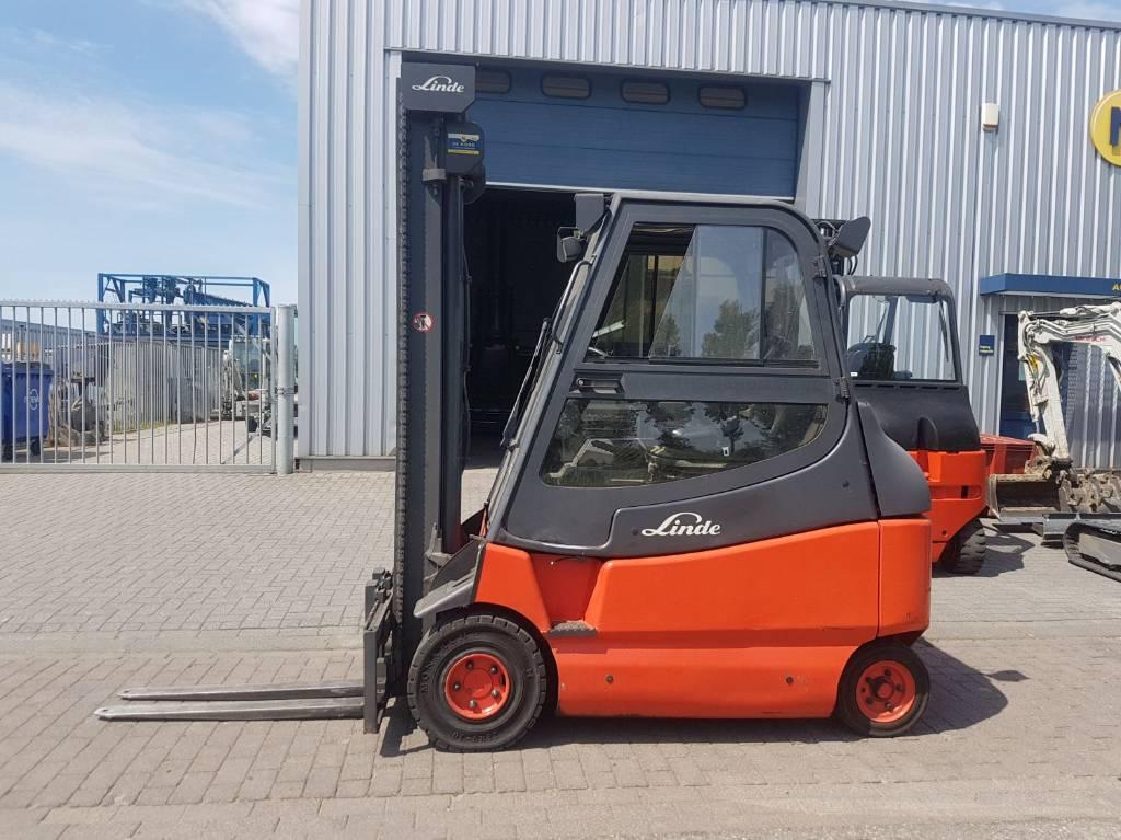 Linde - VERKOCHT E25/600-02, Electric heftrucks, Laden en lossen