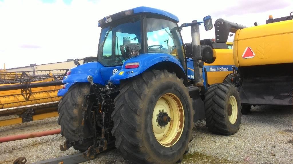 New Holland T 8040, Traktorid, Põllumajandus