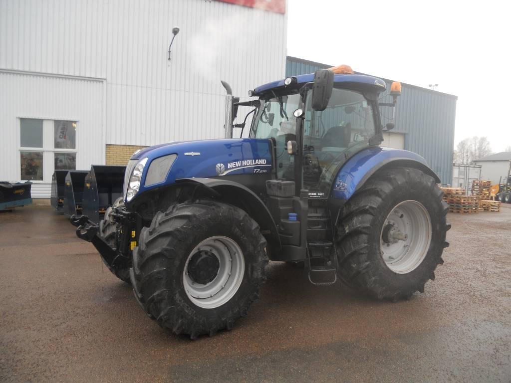 New Holland T 7.270 AC, Traktorer, Lantbruk