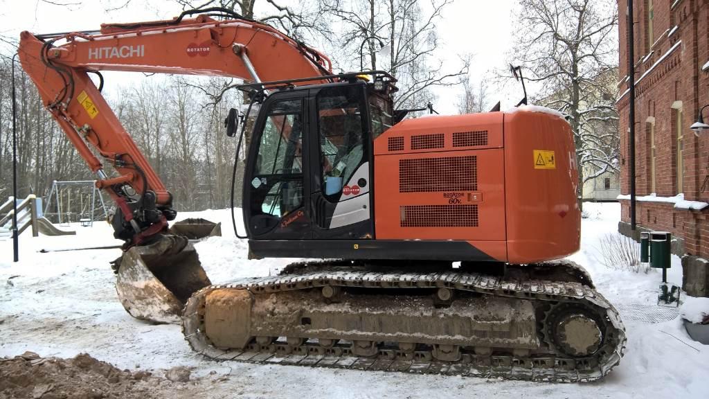 Hitachi ZX225USRLC-5B, Crawler excavators, Construction