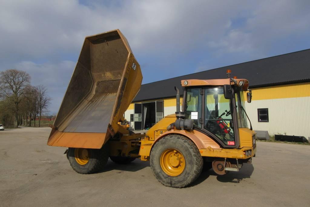 Hydrema 912D dumper, multitip, Railway, Midjestyrd dumper, Entreprenad