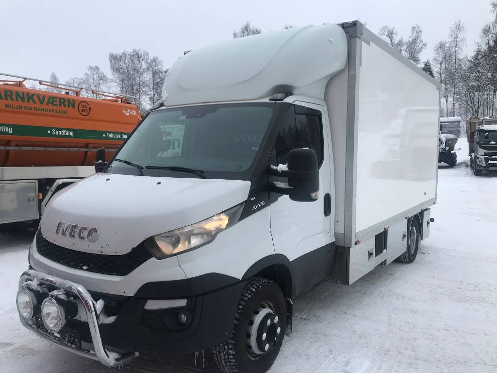Iveco Dayli 70C17 verksted vogn, Skapbiler, Transport