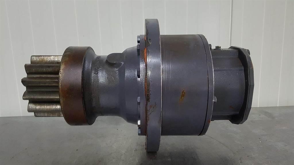 Linde GD9 2506 - Fuchs MHL 340 D - Swing motor
