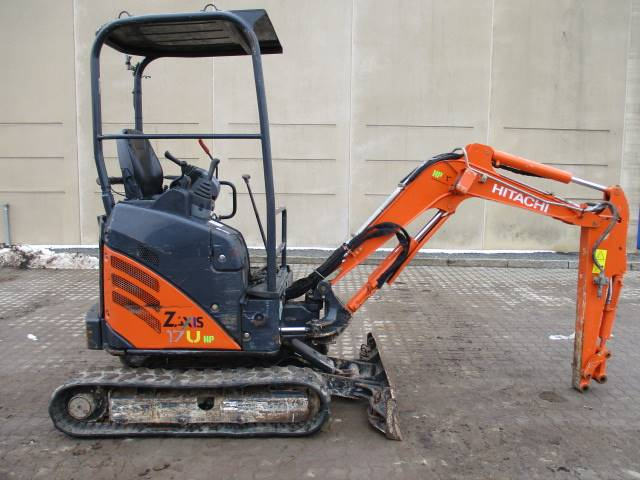 Hitachi ZX 17 U-2, Mini excavators < 7t, Construction Equipment