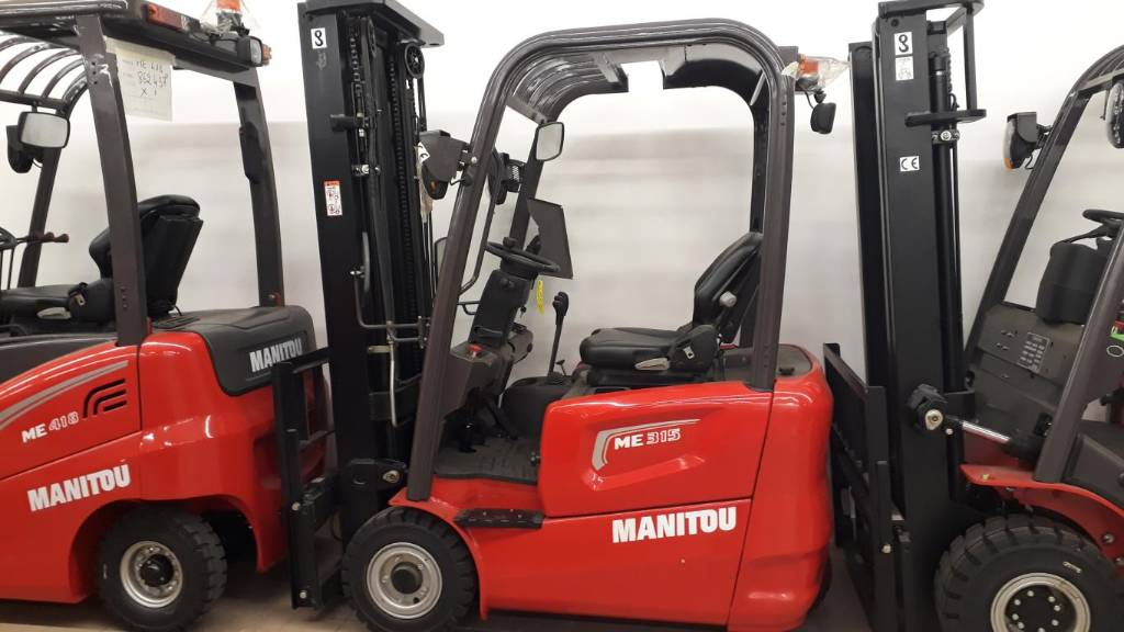 Manitou ME 315, Electric Forklifts, Material Handling