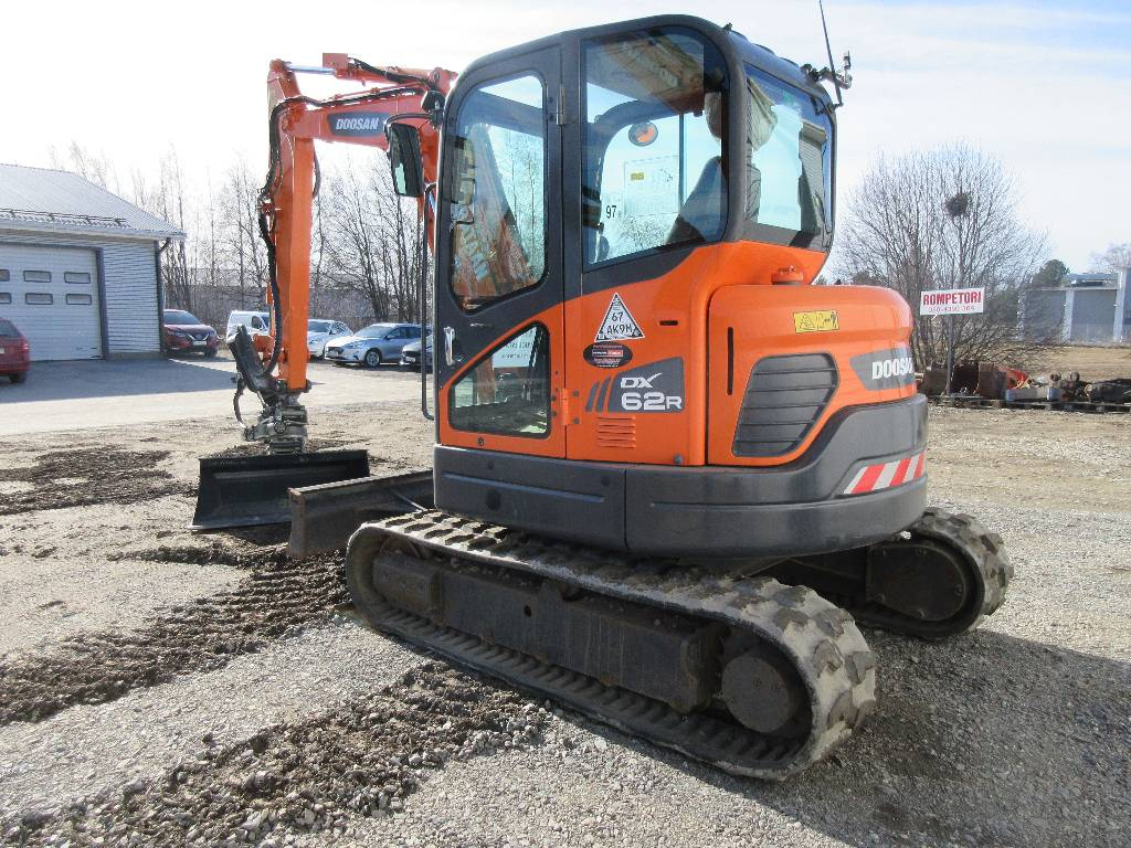 Doosan DX62R-3, Mini digger, Construction Equipment